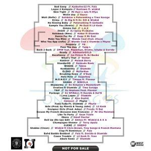 DJ Neptune-One Lagos 2016 Tracklist