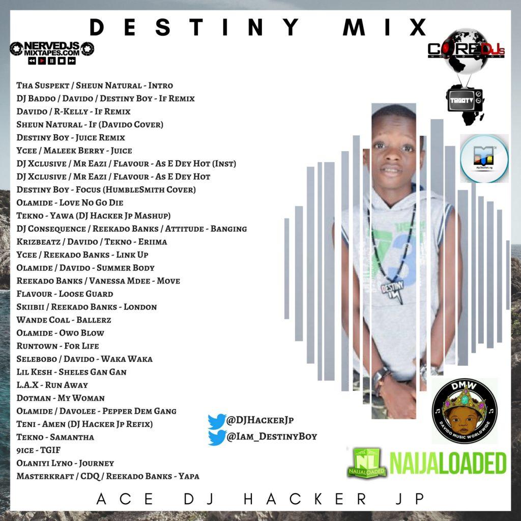 DJ Hacker Jp Destiny Boy Mix