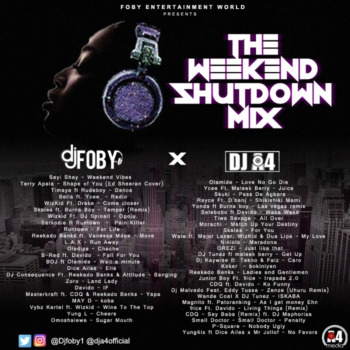 Dj-Foby-DJ-A4-Shutdown-Weekend-Mix-Afromixx