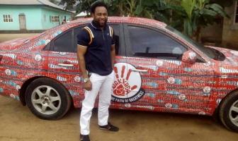 David Gospel Aniefok Car Set Ablaze In Uyo