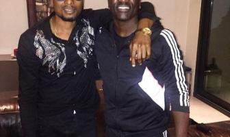 Faze Hangs Out With Akon