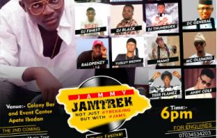 Jammy Jam Trek 2017