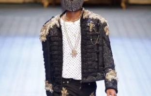 Wizkid turns supermodel, walks Dolce & Gabbana's Men's Fashion Show