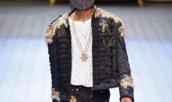 Wizkid turns supermodel, walks Dolce & Gabbana's Men's Fashion Show