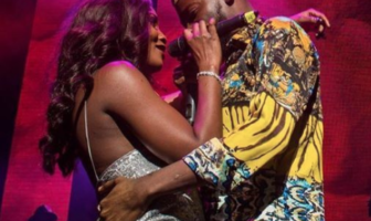 Adekunle Gold gets cosy with Simi on stage at his 'About 30' Concert in London (Photos)