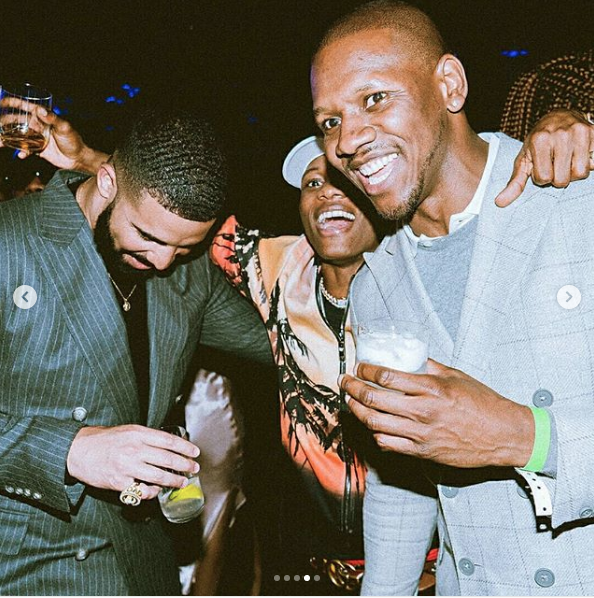 Wizkid parties with Drake in London at Scorpion Album Listening Party