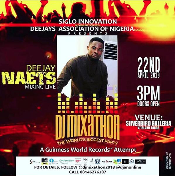 DJ Naets participated at DJ Mixathon