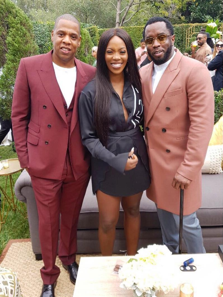 Tiwa Savage spotted with Jay-Z and Diddy
