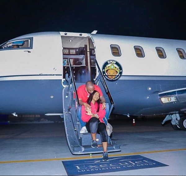Davido lied about ownership of his private jet
