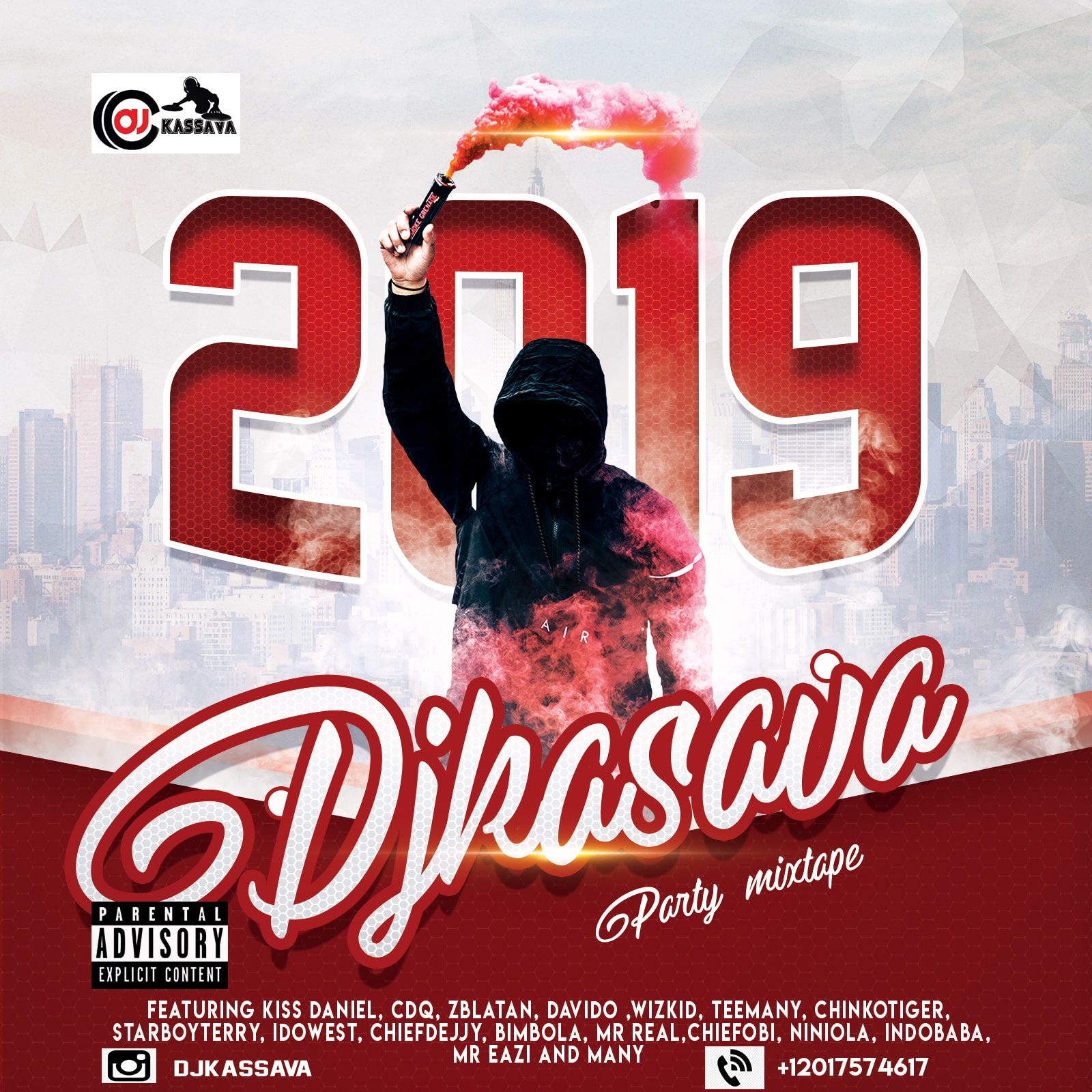 DJ Kassava - Merry Xmas N Happy New Year Afrobeat 2019 Mixtape