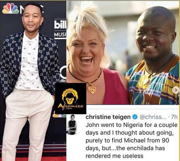 John Legend In Nigeria