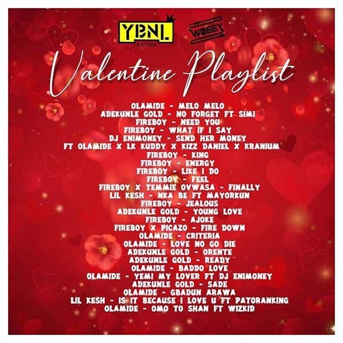 DJ Enimoney – Valentine Playlist Mix