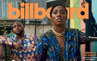 Billboard Features Davido, Tiwa Savage & Mr. Eazi On The Cover Of Its Latest Edition