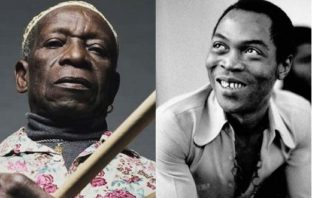Tony Allen and Fela Kuti