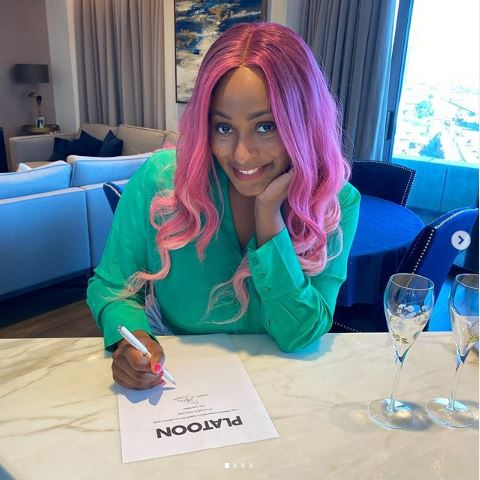 DJ Cuppy Signs Record Deal With London Based Record Label, Platoon