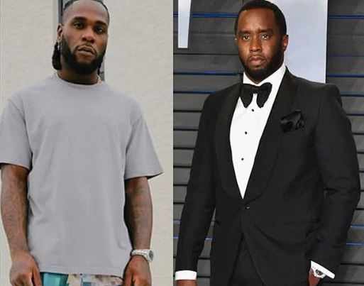 """Burna Boy's """"Twice As Tall"""" album to be Executive Produced by Diddy"""