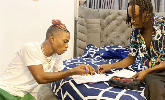Naira Marley signs Lyta to his label, Marlian Music
