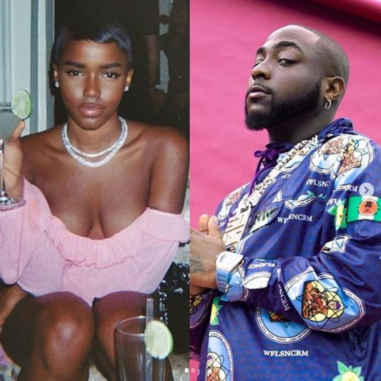 """I Never Slept With Davido While Chioma Was Pregnant""- UK Model, Evss Cries Out"