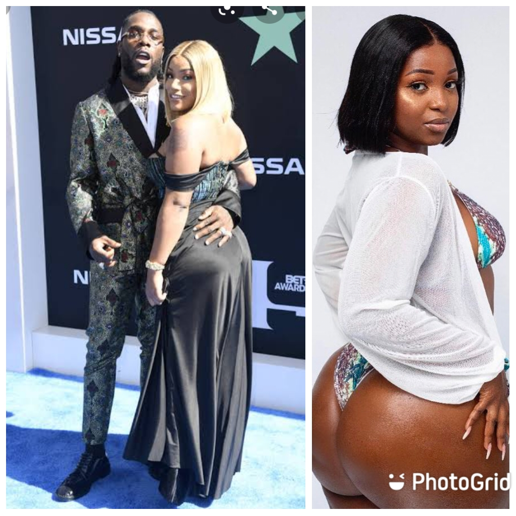 Burna Boy Accused Of Cheating On Stefflon Don With A 23 Year Old, Jo Pearl