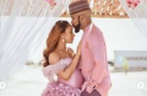 Banky W and Wife, Adesuwa Welcome New Baby Boy