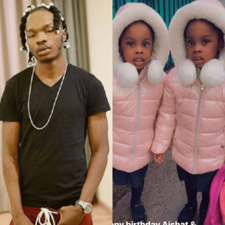 Singer Naira Marley Celebrates His Twin Daughters and Zinoleesky on Their Birthdays