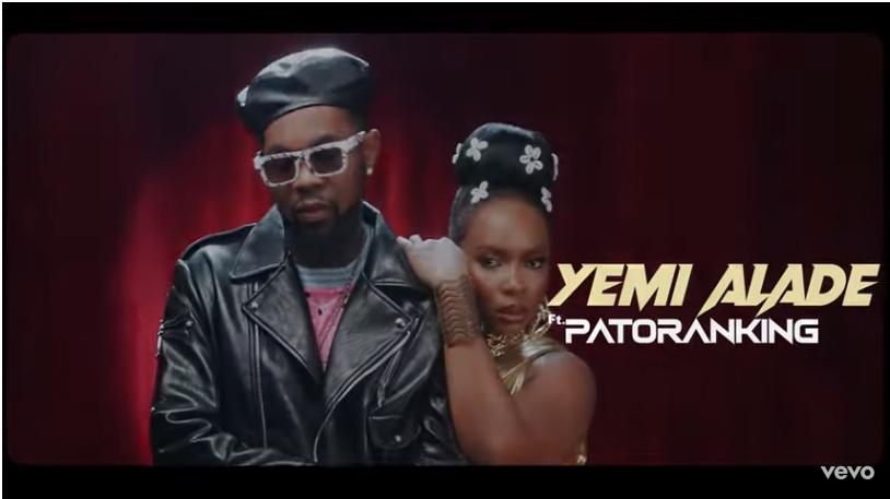 Yemi Alade ft Patoranking – Temptation video