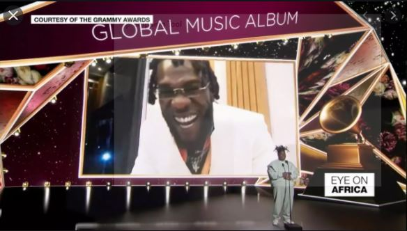 Burna Boy wins Grammy