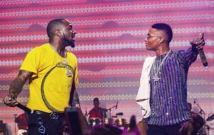 Davido Shares Video of Wizkid Vibing to his Song In A Private Jet