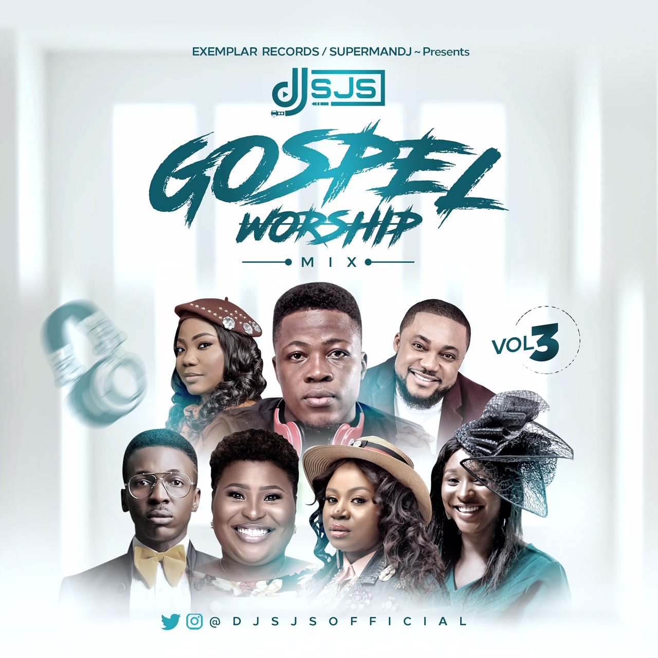 DJ SJS - Gospel Worship Mix (Vol. 3)
