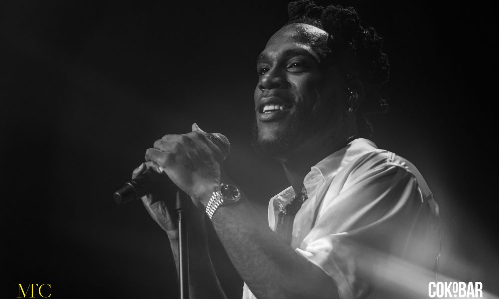 Burna Boy Shares His View on The Movie Series Squid Game