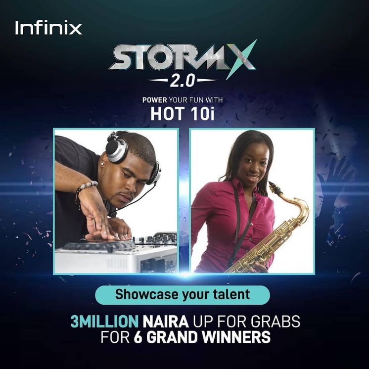 Get A Chance to Win N500, 000 at the Infinix Storm X