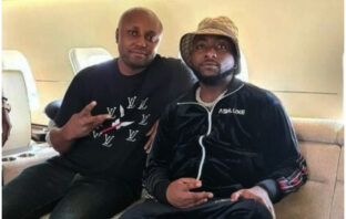 Isreal DMW Prostrates Upon Meeting Davido After His Sacking
