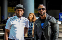 Iyanya and Triple MG Boss, Ubi Franklin Reunites After Five Years